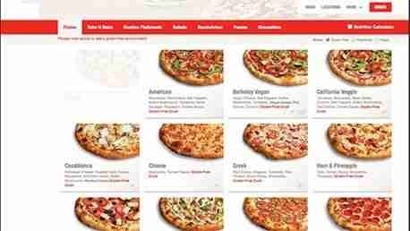 Diseño de sitios web para restaurantes. Hostelería Ecuador