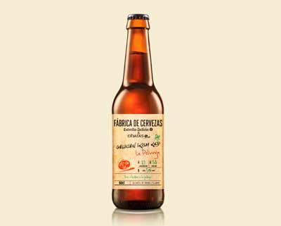 "Fábrica de Cervezas Estrella Galicia lanza ""La Pelirroja"", su primera cerveza colaborativa"