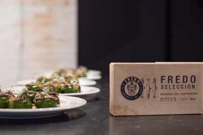 La anchoa del Cantábrico se reinventa en la cocina de la mano de los chefs cántabros Carlos Zamora y José Manuel de Dios