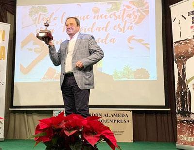 """El gerente de la Posada de José María 'El Tempranillo', galardonado por su """"constancia empresarial"""""""