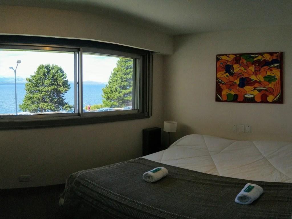 Habitacion Doble con vista del Hostel Hormiga Negra - Bariloche