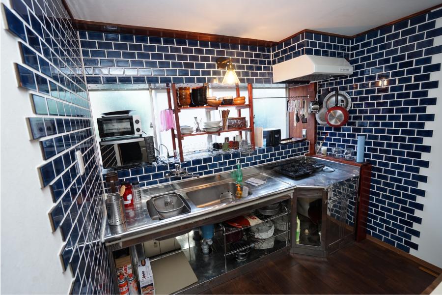 hostelknotのキッチン