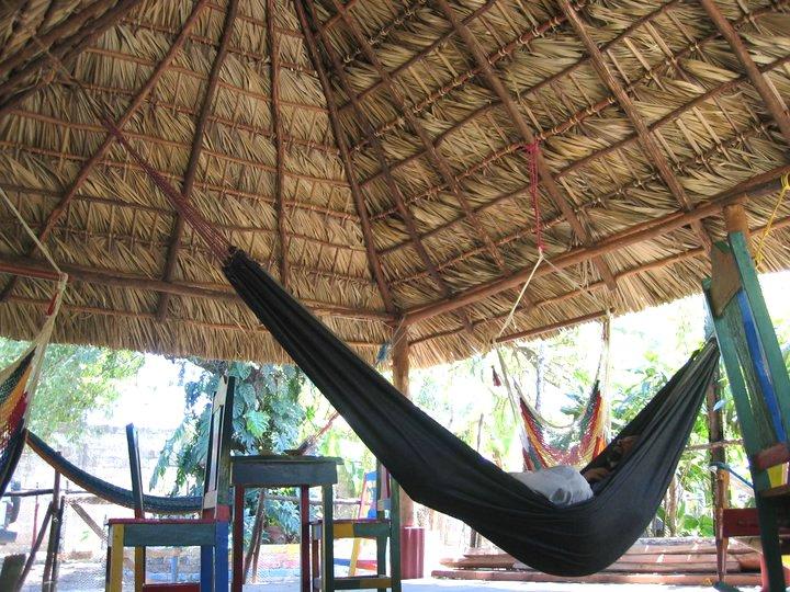 Hostel Ometepe Nicaragua  Hospedaje Central El Indio Viejo  Lively and ecological Hostel in