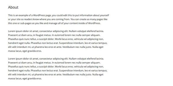 Παραδείγματα σελίδας προορισμού