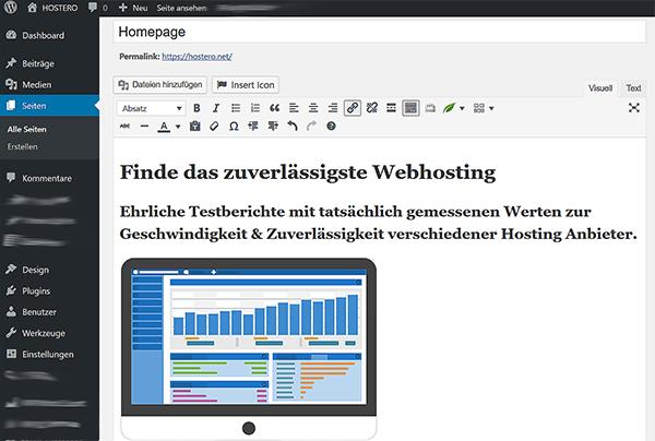 Homepage erstellen  Die 2 besten Programme fr Einsteiger  HOSTERO