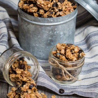 Vanilla Nut Granola Recipe