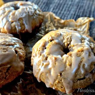 Spice Cake Donuts with Vanilla Bean Glaze