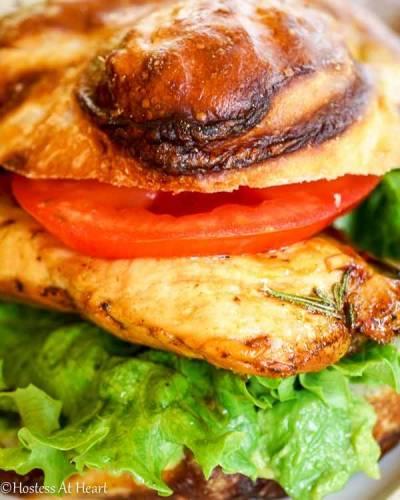 Balsamic Chicken Sandwich