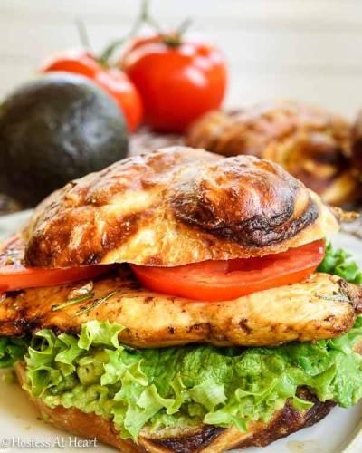 Balsamic Chicken Sandwich - Hostess At Heart