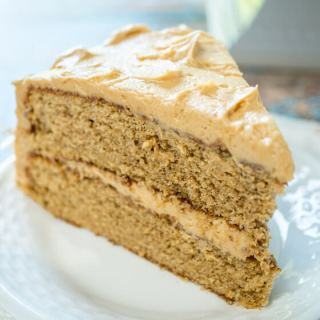 Super Special Spice Cake with Peanut Butter Frosting