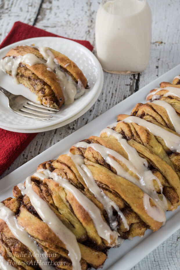 Overnight Brioche Cinnamon Rolls | Hostess At Heart