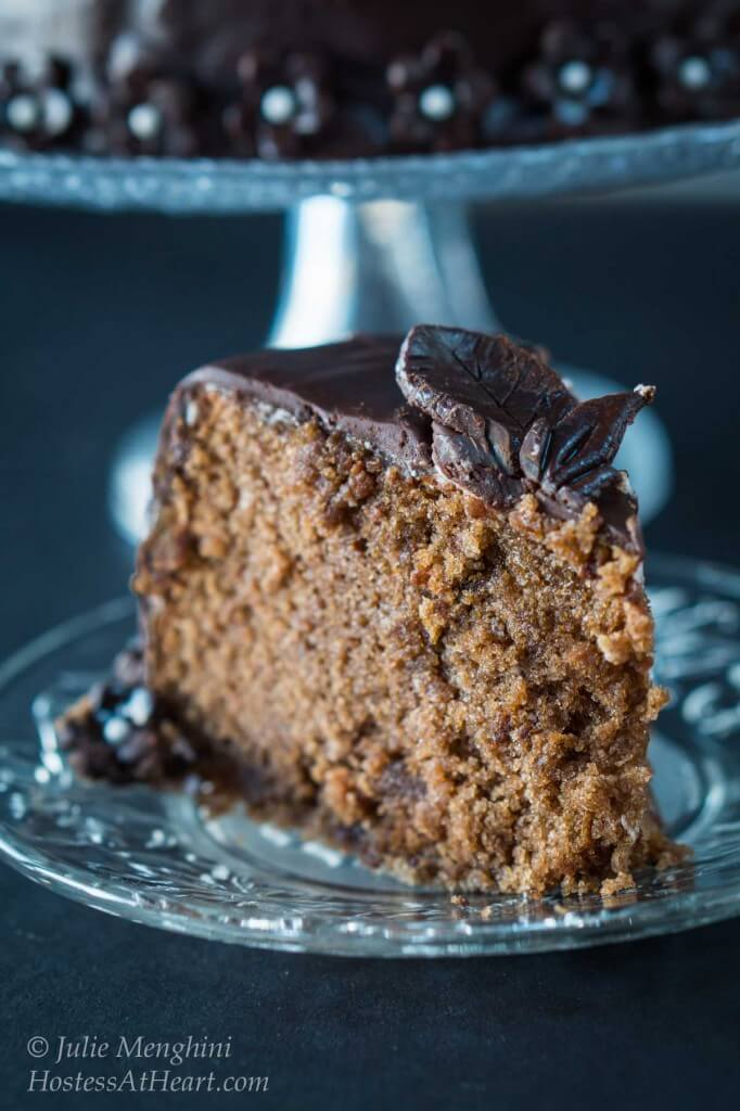 A quick and easy cake that if perfect for any occasion. Chocolate Vodka and Kahlua guarantee a moist and delicious Black Russian cake | HostessAtHeart.com