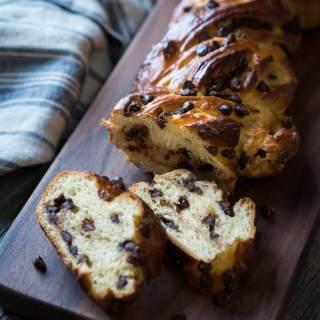 Sweet Russian Chocolate Braid – #Breadbakers