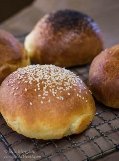 how to make brioche bread rolls