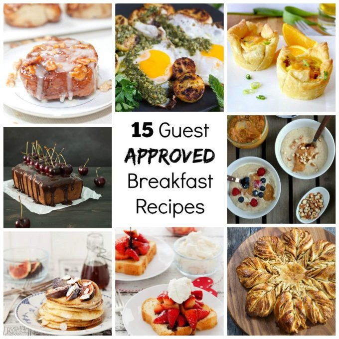15 Guest Approved Breakfast Recipes | HostessAtHeart.com
