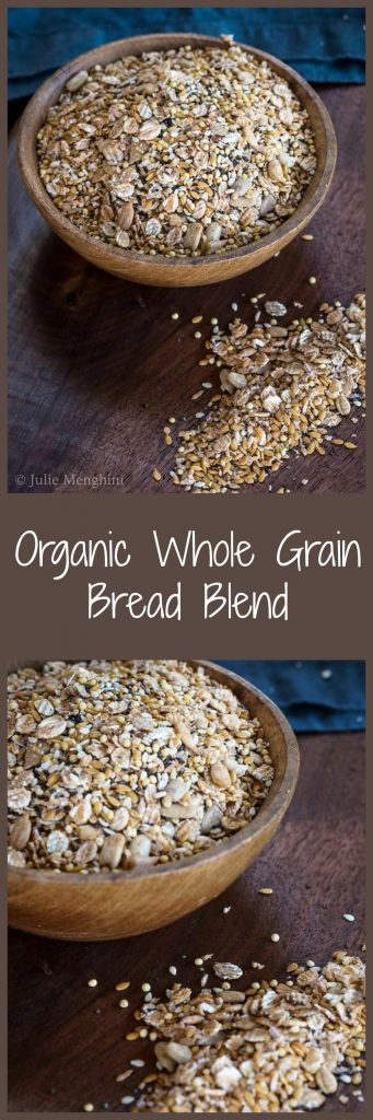 Organic Whole Grain Bread Blend is a delicious mix of organic seeds and grains that add flavor and texture to your favorite bread recipes. | HostessAtHeart.com