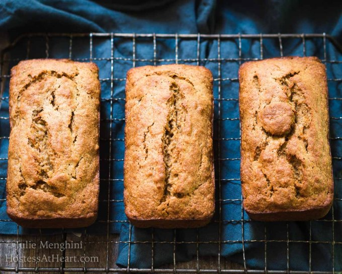 Better for you banana bread recipe hostess at heart better for you banana bread recipe uses smarter ingredients so you can still have a slice with breakfast or a snack without all of the guilt forumfinder Image collections
