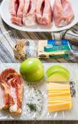 Food isn't just food when you add layers of flavor with quality ingredients. Gouda Cheese and Apple Stuffed Pork Chops are like a party of the senses and more of an experience than a meal. #ad   Hostessatheart.com