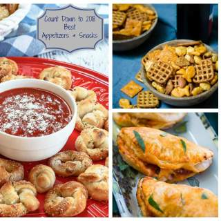Best Appetizers & Snacks – Countdown to 2018