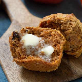 Big Batch Whole Wheat Harvest Muffins Recipe