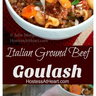 Italian Ground Beef Goulash Recipe