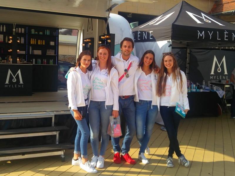 Mylène promoteam kusttour