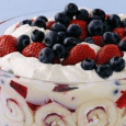Layers of berries, cake and whipped cream, oh my! Create an easy and delicious dessert in no time. Prep Time 45 minutes Cook Time 30 minutes Serves 15 persons INGREDIENTS: […]