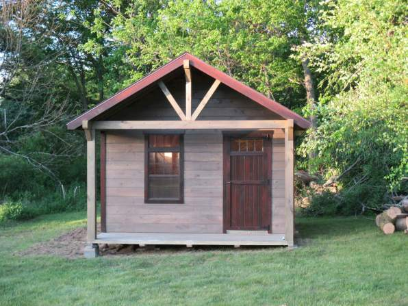 Challenger Rustic Portable Shed