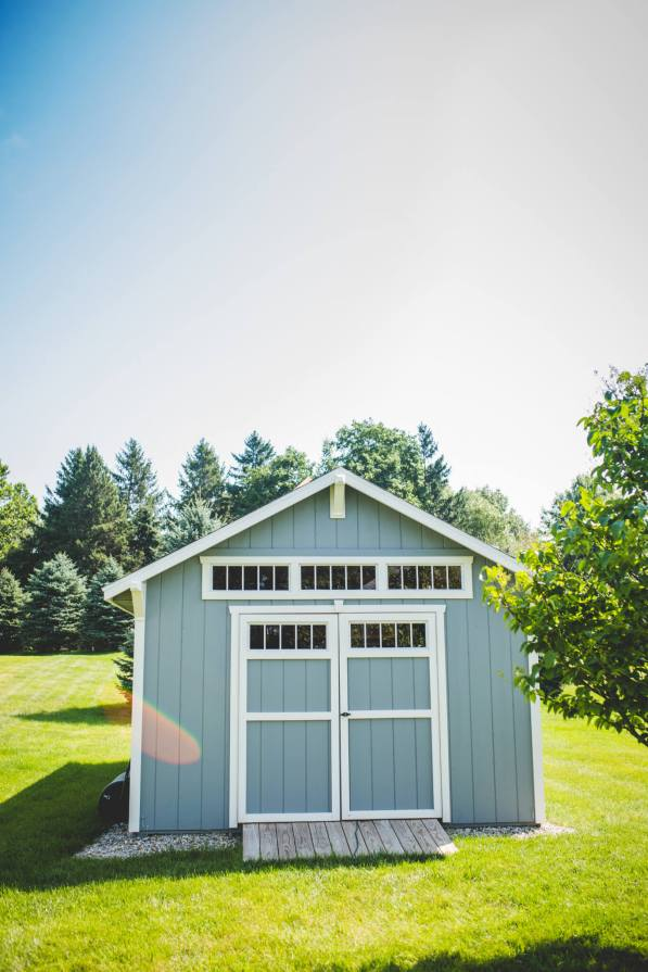12 X 24 Garden Shed with Dormer