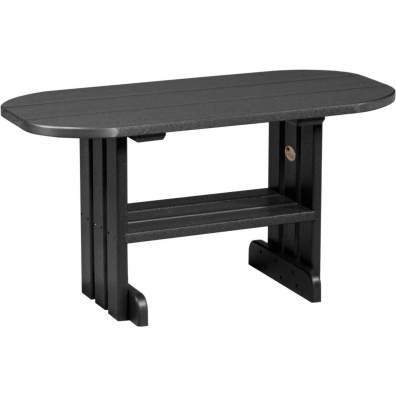 LuxCraft Poly Coffee Table Black