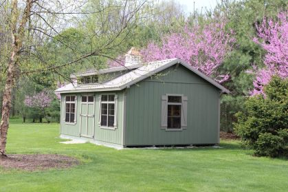 14x24-painted-green-shed-storage-barn