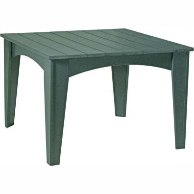 Island Dining Table (44 Square) Green