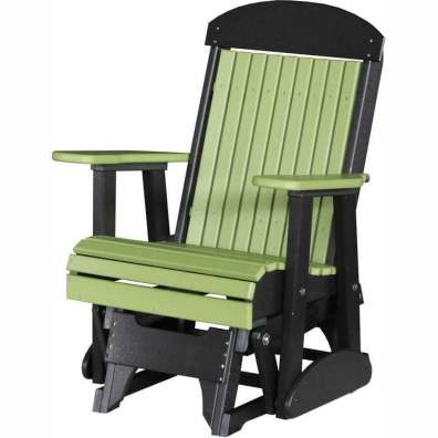 LuxCraft Poly 2' Classic Glider Lime Green