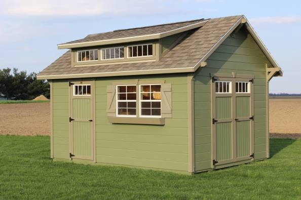 The Garden Shed With Pine Siding