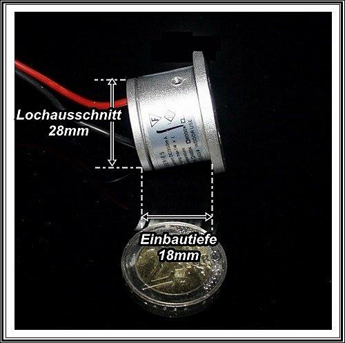 SERIE LEDMIKROBELEUCHTUNG Minispot Mikrospot Mini