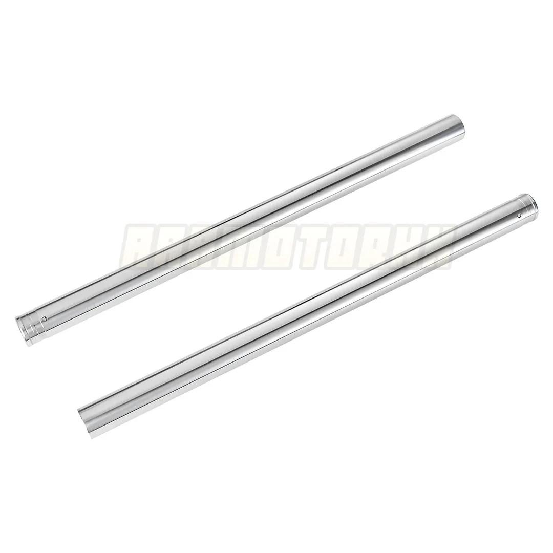 Front Inner Fork Tubes Pair Pipes For Honda Vt C2