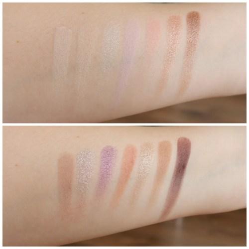 catrice pro slim lavender breeze eyeshadow palette review swatch anastasia beverly hills norvina comparison makeup look fair skin application 3 looks 1 palette