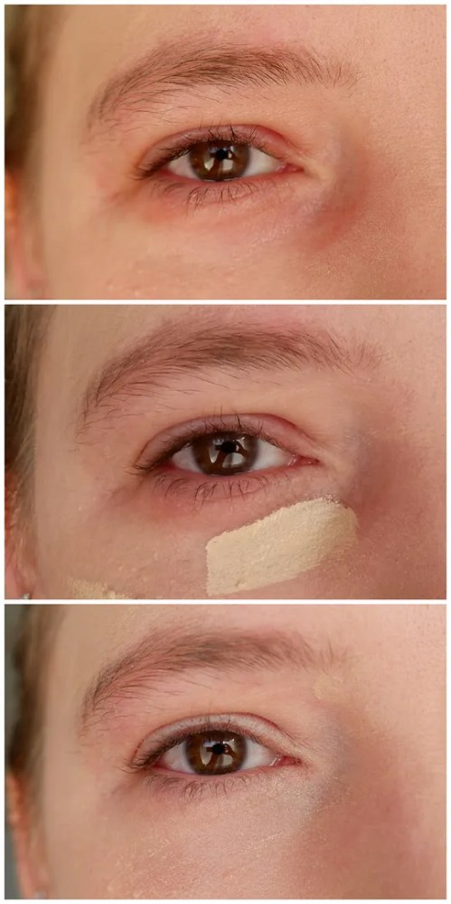 catrice true skin concealer 002 neutral ivory review swatch makeup look application