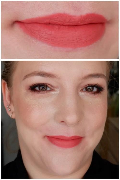 Catrice vegan collagen matt lipstick review swatch lipswatch closeup fair skin dry skin sensitive skin cool undertone neutral warm