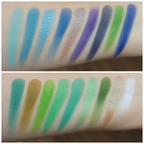 certifeye affinity 2 eyeshadow palette review swatch makeup look application fair skin