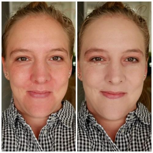 colourpop pretty fresh foundation review swatch fair skin fair 20N makeup look