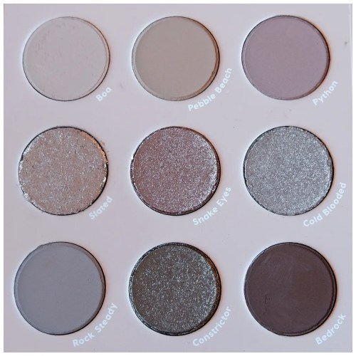 colourpop that's taupe eyeshadow palette review swatch makeup look application fair skin cool toned