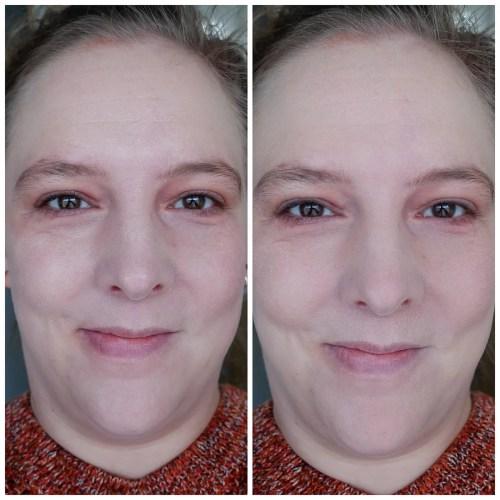 charlotte tilbury airbrush flawless filter powder review swatch application makeup look fair skin dry skin fair