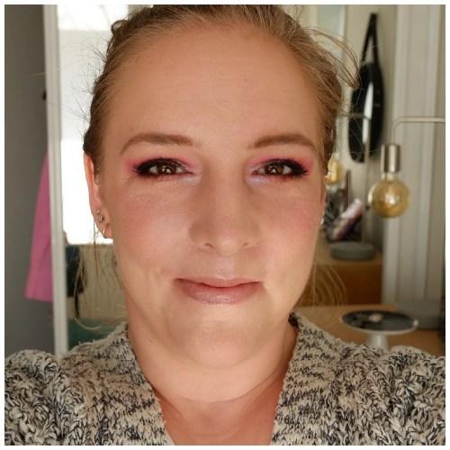 essence liquid ink eyeliner brown waterproof review swatch application makeup look fair skin