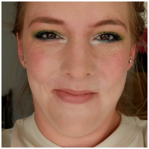 fenty beauty eaze drop skin tint foundation 1 review swatch makeup look application dry skin fair skin sensitive skin