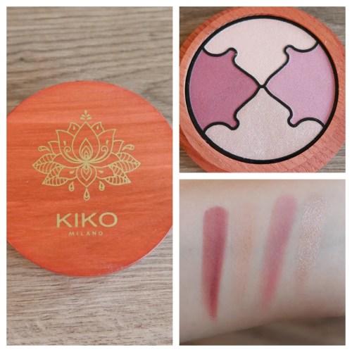 Kiko Milano Precious Rituals Vegan Eyeshadow Harmony Palette 02 Spiritual Pink