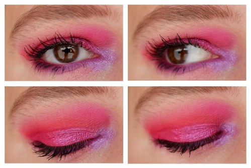 glamlite cake eyeshadow palette review swatch indie makeup look application 3 looks 1 palette fair skin