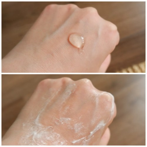 good molecules rose water cleanser daily cleansing gel review skincare swatch dry skin sensitive skin
