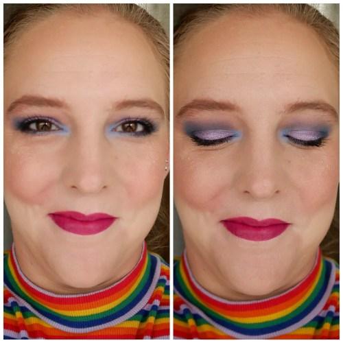 lethal cosmetics hyve palette single eyeshadow 4 looks 1 palette pale skin
