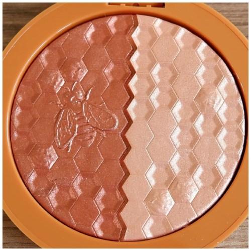 melt digital dust duo blush raw honey review fair skin swatch dry skin makeup look application